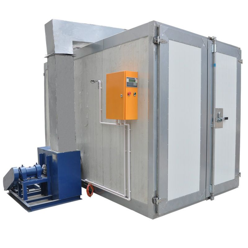 Conventional Powder Coating Oven With Circulation Fan Forced Air