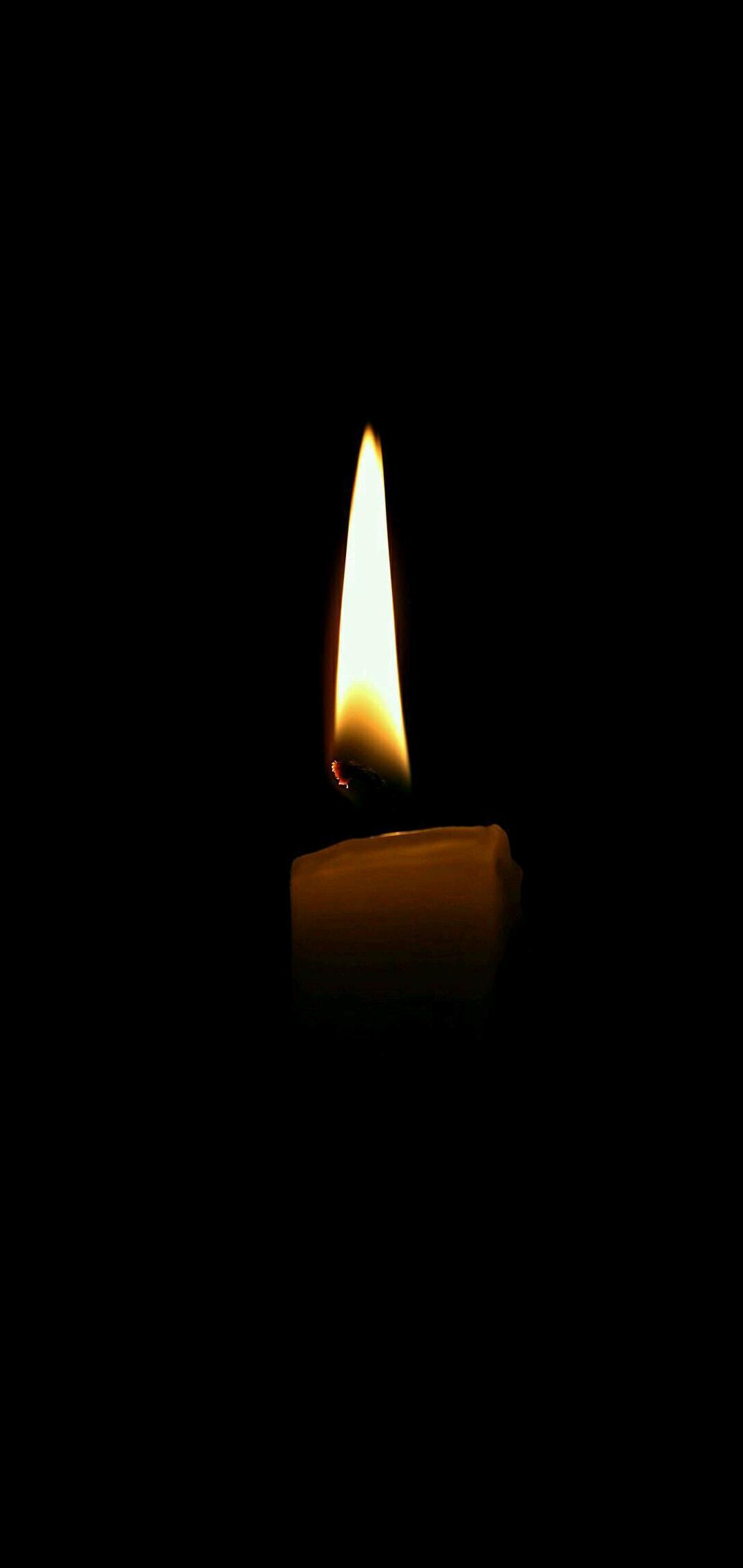 Amoled Candle Wallpaper Candles Wallpaper Dark Wallpaper Aesthetic Candles