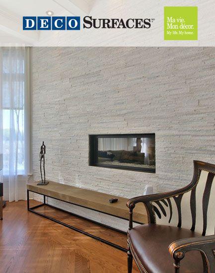 un rev tement mural sera parfait pour donner de la valeur votre chemin e et pourquoi pas. Black Bedroom Furniture Sets. Home Design Ideas