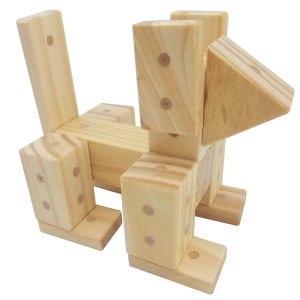 Magnetic Wooden Blocks The Freckled Frog Wooden Blocks
