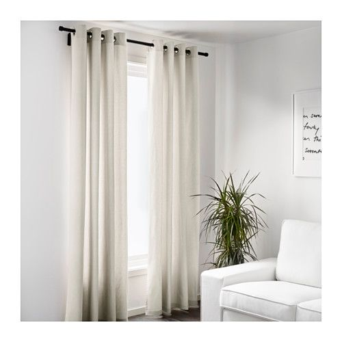 SANELA Gardinenpaar - IKEA Gardinen Pinterest Esszimmer - gardinen set wohnzimmer