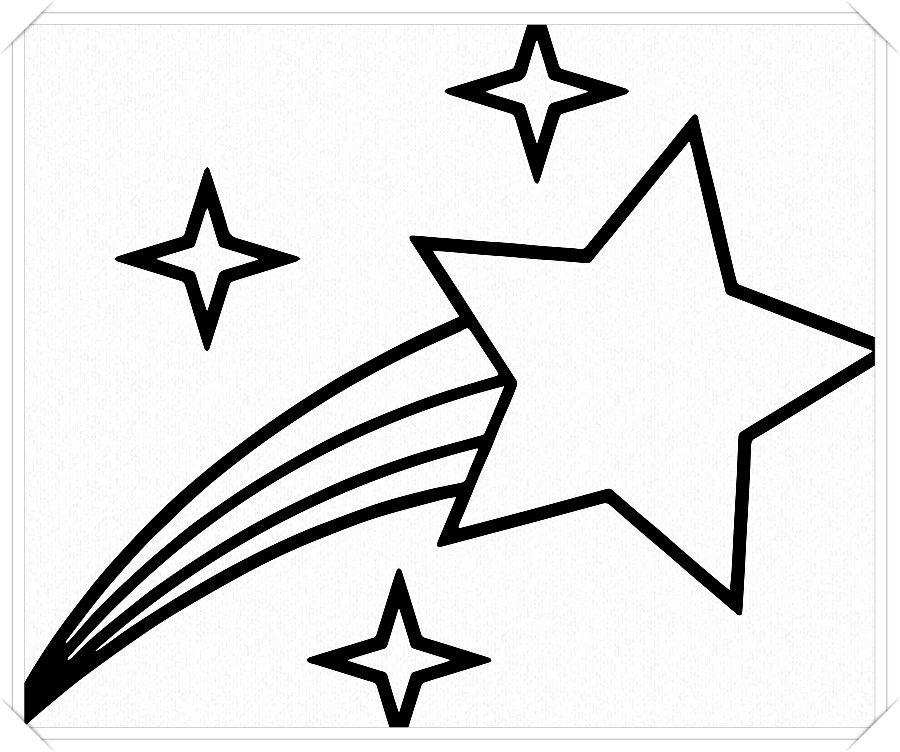 Los Mas Lindos Dibujos De Estrellas Para Colorear Y Pintar A Todo Color Imagenes Pr Dibujos De Estrellas Imagenes De Estrellas Fugaces Estrellas Para Imprimir