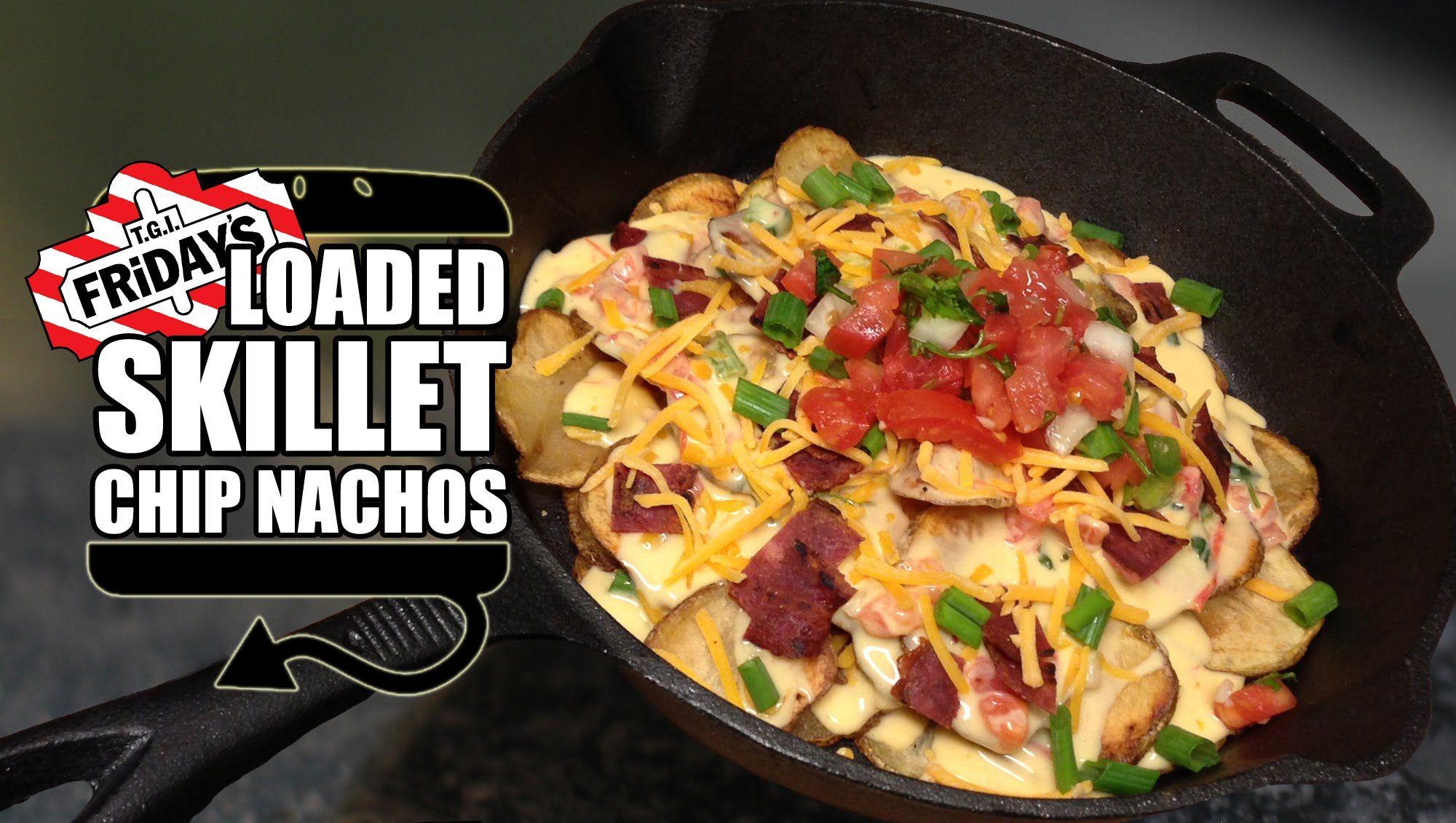 Friday's Loaded Potato Chips Skillet Recipe