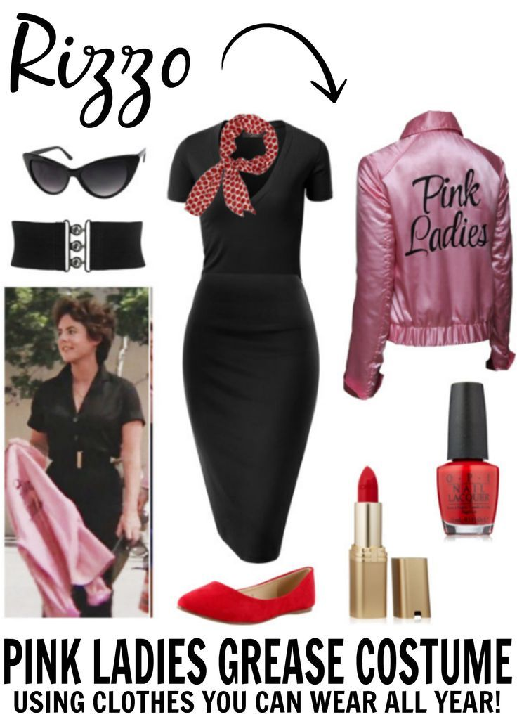 Image result for pink ladies costume Fashion Pinterest Pink - greaser halloween costume ideas
