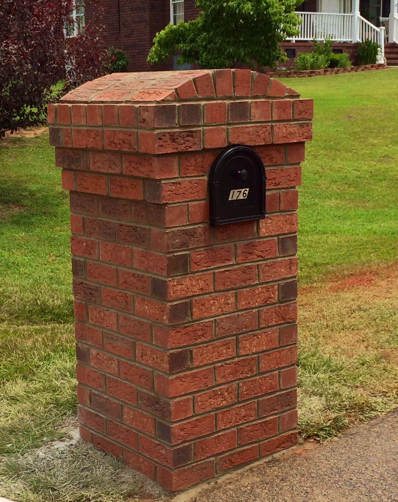 Brick Mailbox Brick Mailbox Mailbox Landscaping 400 x 300