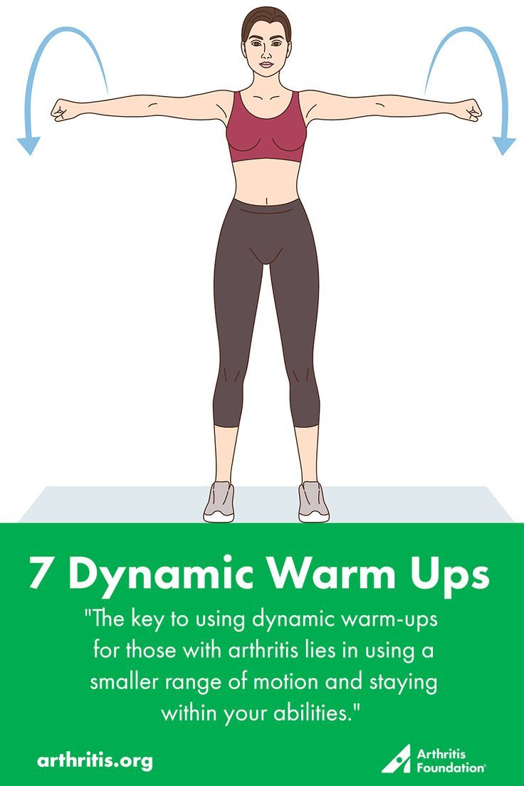 Try these seven dynamic stretches that can help you warm up before your next workout.  #exercise #fi...