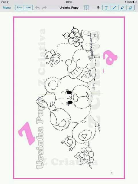 Pin von Helena Buzzo auf Pintura em fraldas | Pinterest