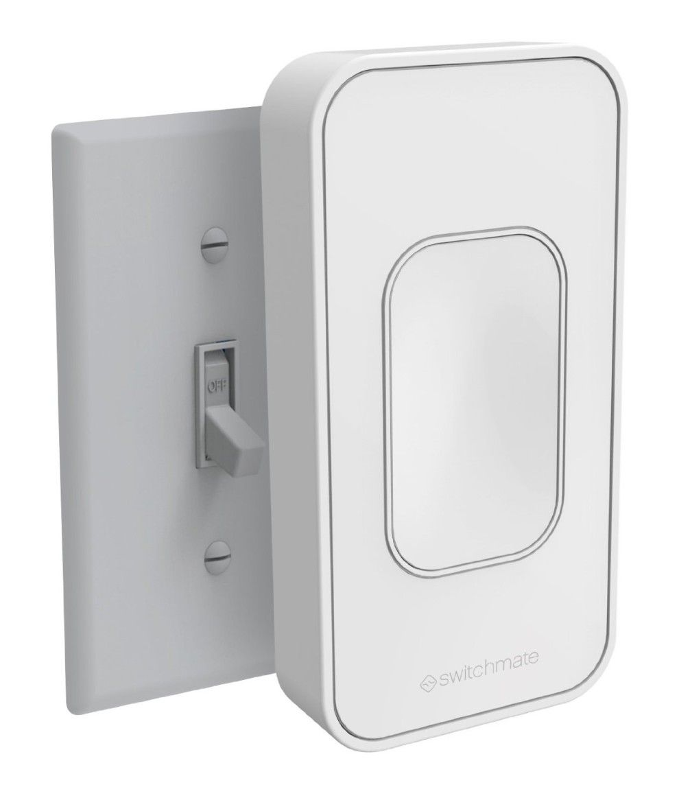 This Easy To Install Smart Light Switch 40 That Fits Right Over Your Existing One Smart Lighting Smart Home Automation Home Automation System
