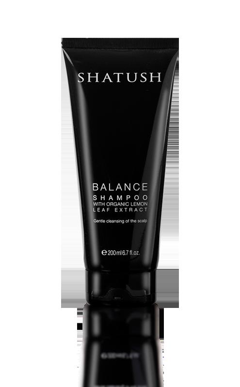 SHATUSH BALANCE SHAMPOO with Natural and Organic Lemon Leaf extract  shatushproducts.com