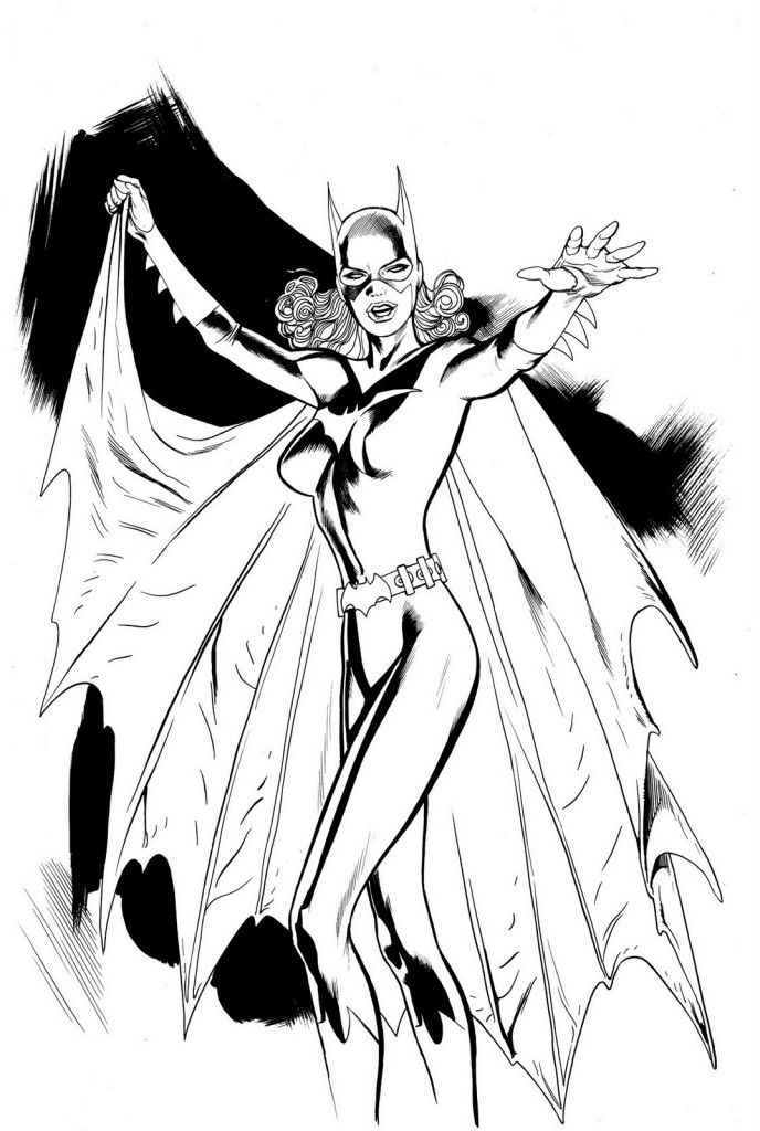 Free Printable Batgirl Coloring Pages For Kids Superhero Coloring Pages Superhero Coloring Batman Coloring Pages
