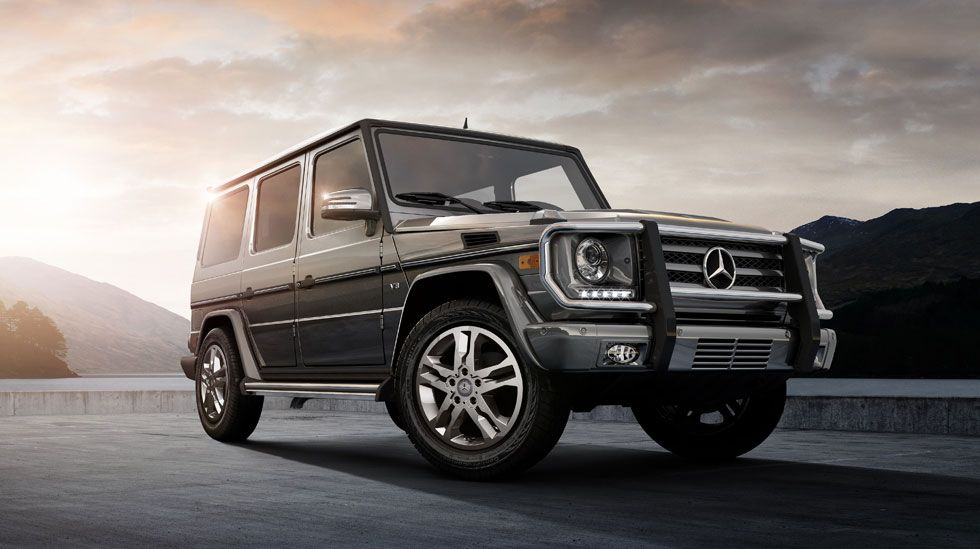 2014 mercedes benz g class suv is on its way