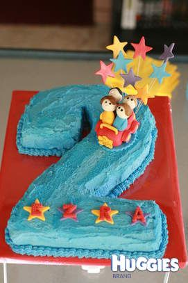 Maybe do a 3 for Aiden this year toddler party Pinterest