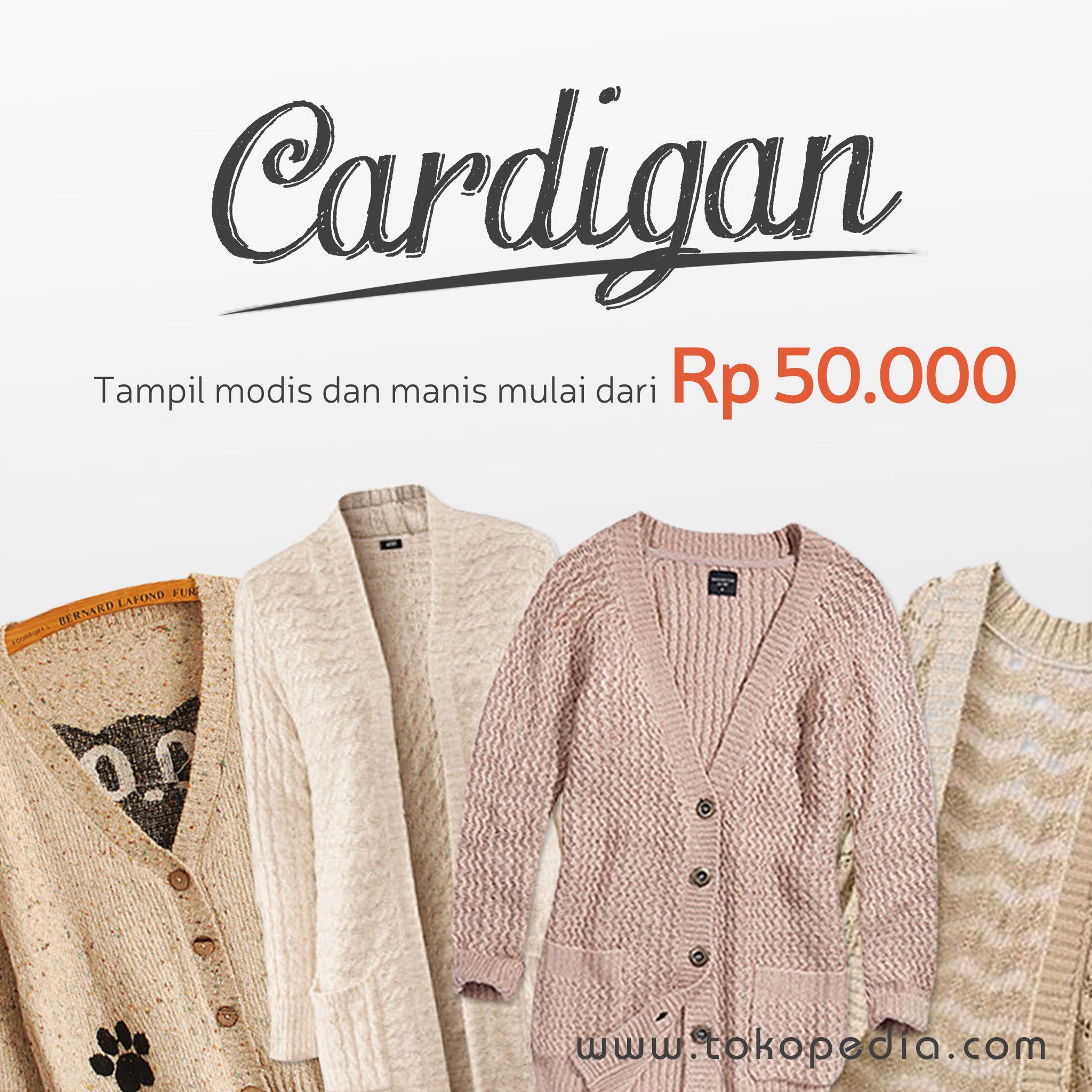 Butuh Cardigan Lucu Untuk Melengkapi Gaya Fashionmu Yang Unik