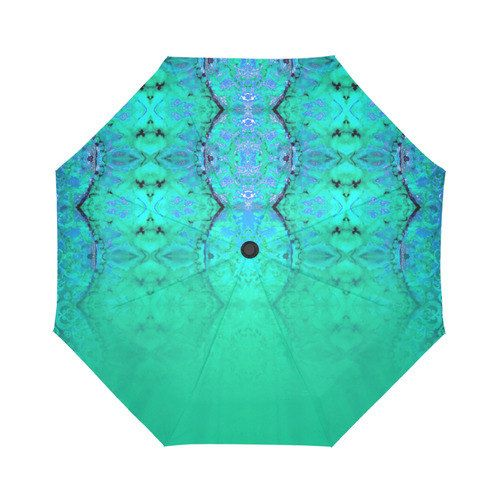 watercolor- Large umbrella- Rain and sun- customizable-mandala 9-Handpainted design #largeumbrella