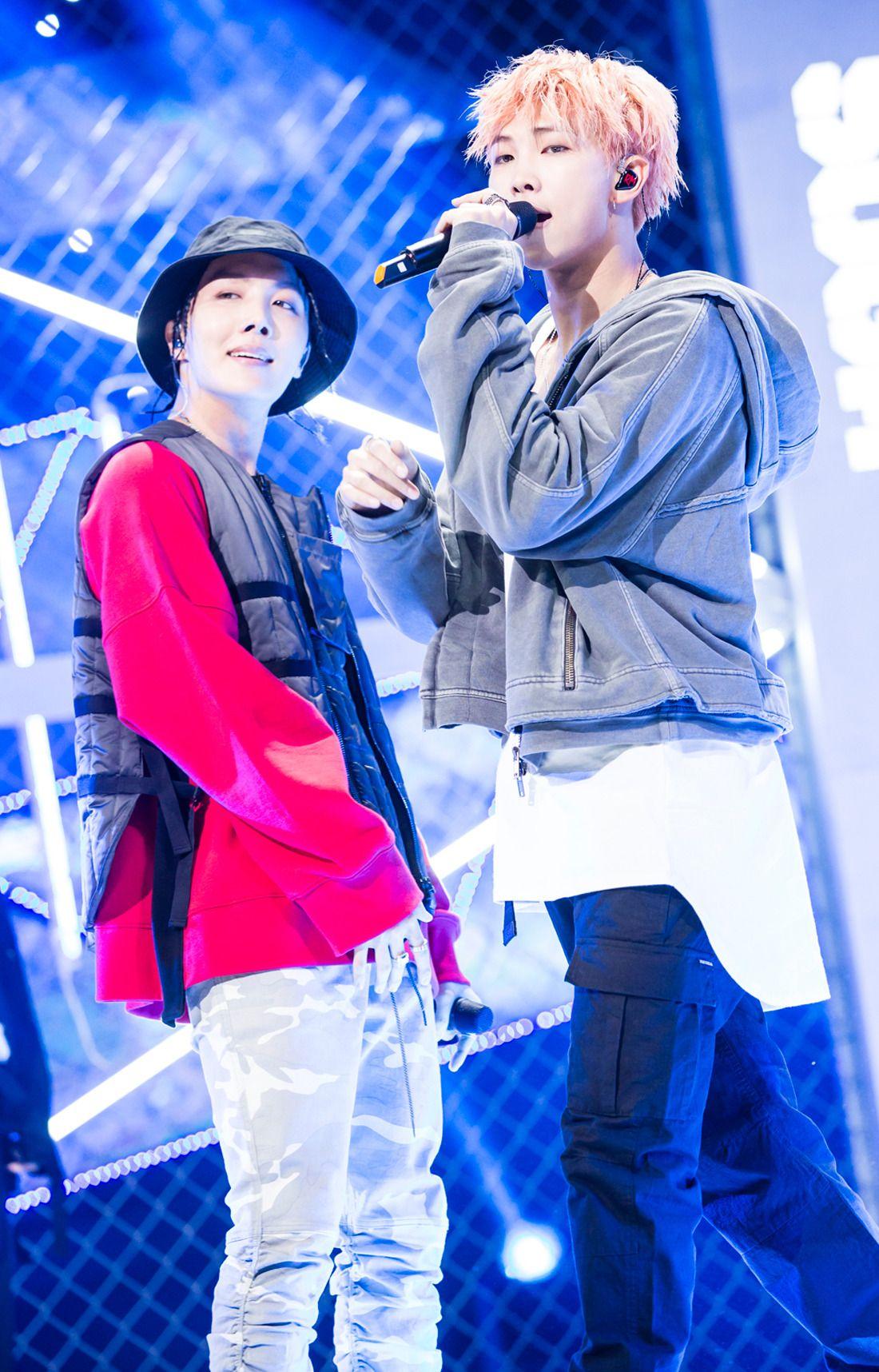 J-Hope & Rap Monster ♡ BTS 17.09.25 Inkigayo