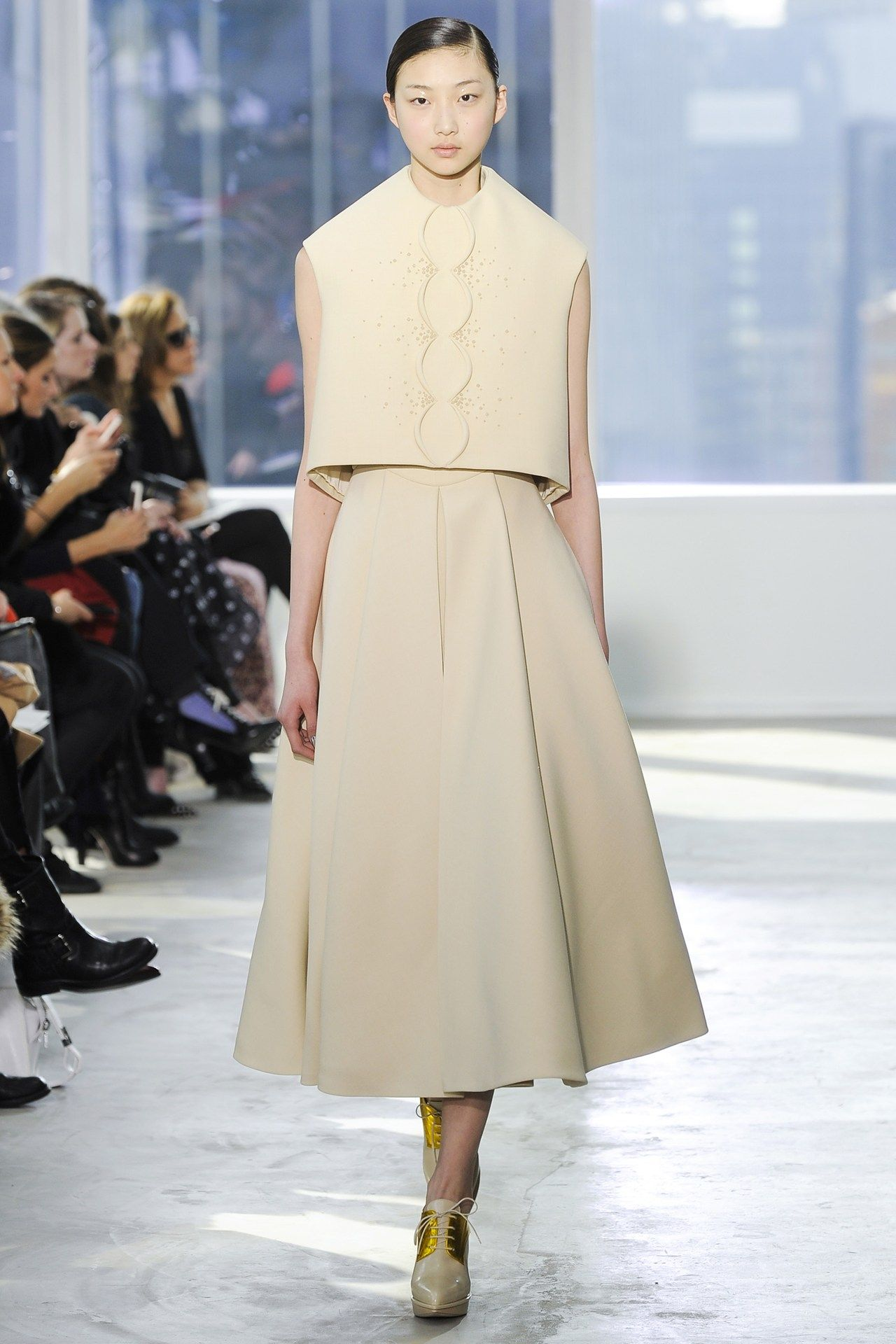 2019 year look- Show Review: Delpozo Fall 2014