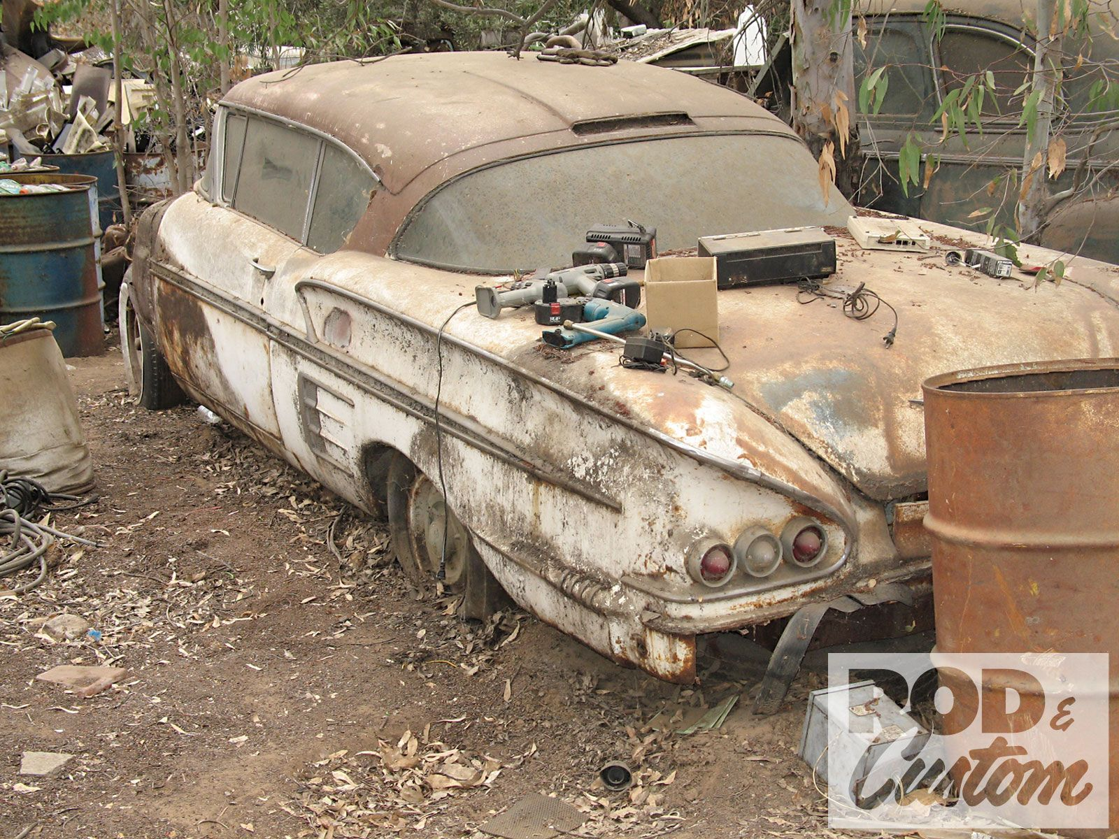 Cash For Clunkers Hot Rod Future Rust Damage | RUSTY LOVE ...