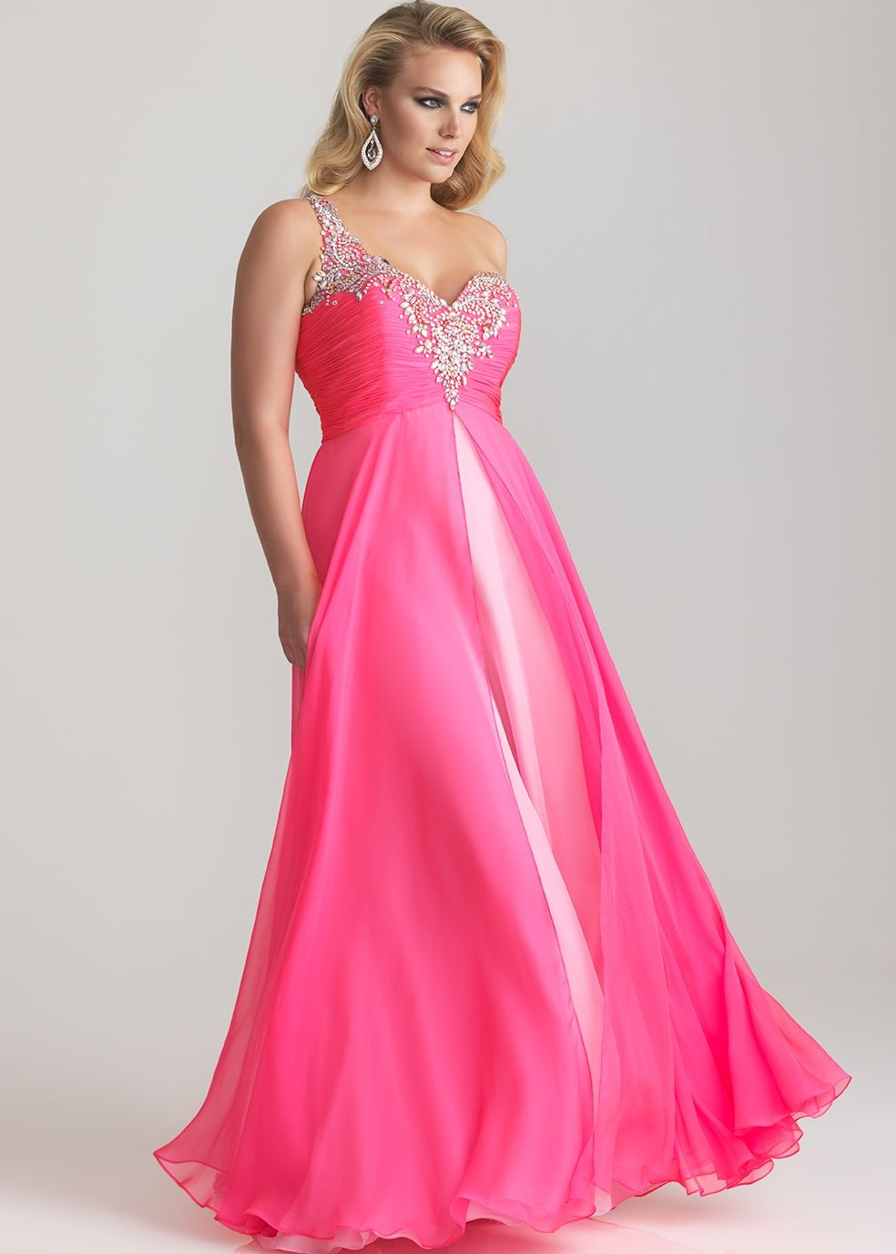 Fashion Choice Of Pink Plus Size Wedding Dresses Photo Album ...