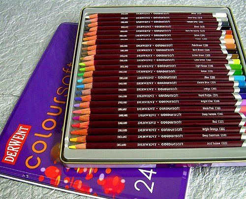 Review Derwent Coloursoft Pencils Colored Pencils Derwent