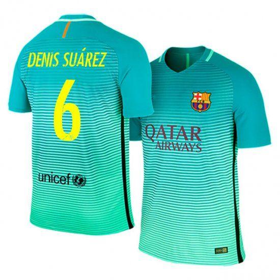 Maillot Extérieur FC Barcelona Denis Suárez