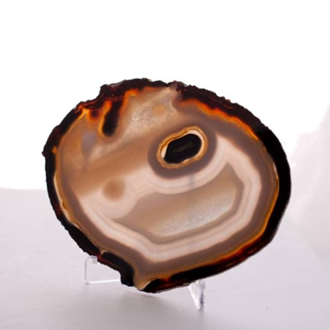 Grey & Amber Agate Fine Slices – Sourceress The Store