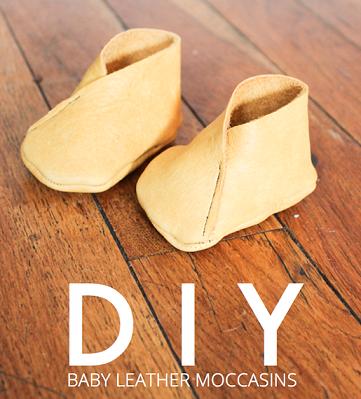 bac085e99 Como hacer mocasines de cuero para bebe (1)