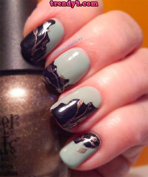 Diy bright striped nail design 2014 nails pinterest bright autumn fall inspired nail art designs trends ideas for girls 2013 2014 1 autumn prinsesfo Image collections