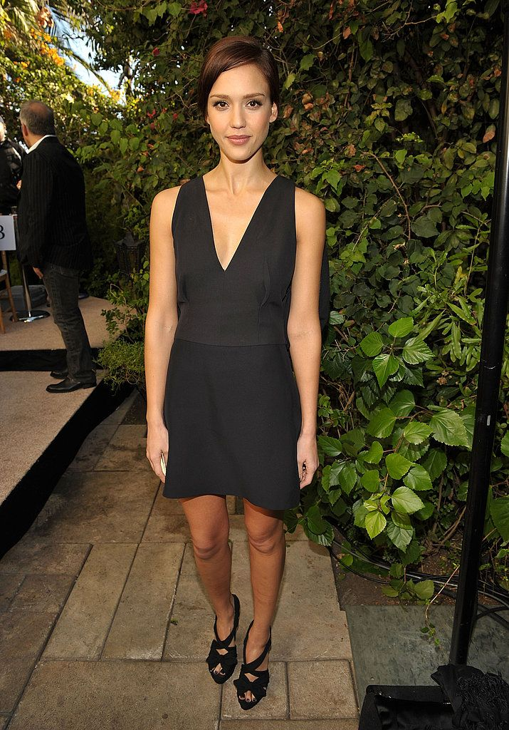Jessica Alba in Prada - The CFDA/Vogue Fashion Fund Runway Show in Los Angeles