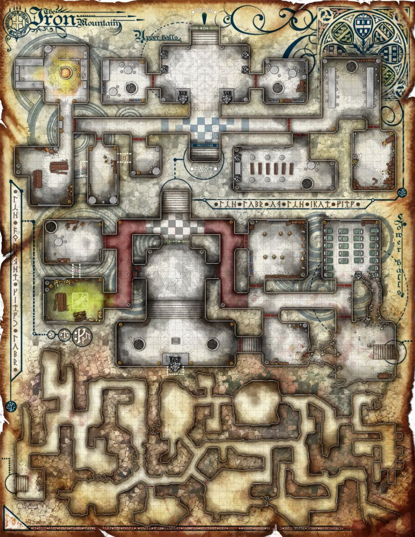 RPG Epic Encounter Maps by The Red Epic   RPG Maps in 2019   Dungeon