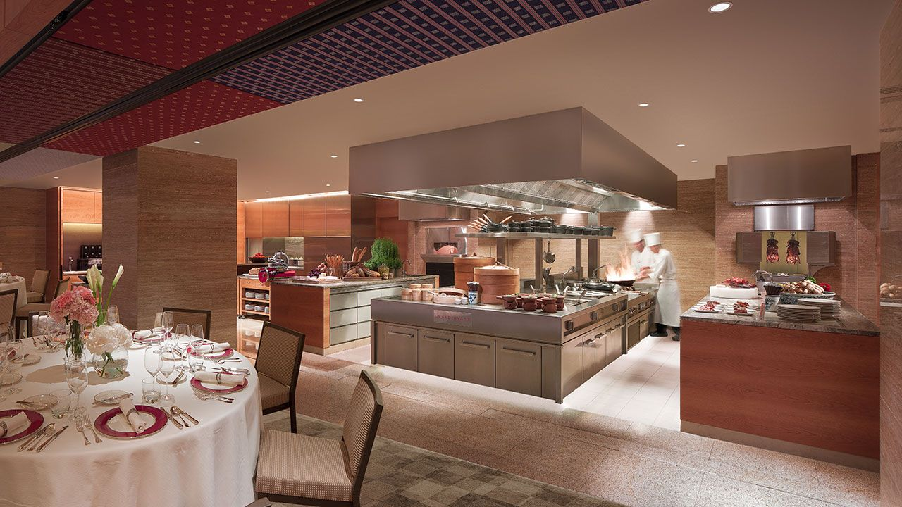 Show Kitchen (With images) Hotel wedding packages, Grand