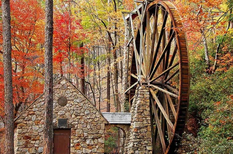 Berry College -Old Mill Wheel