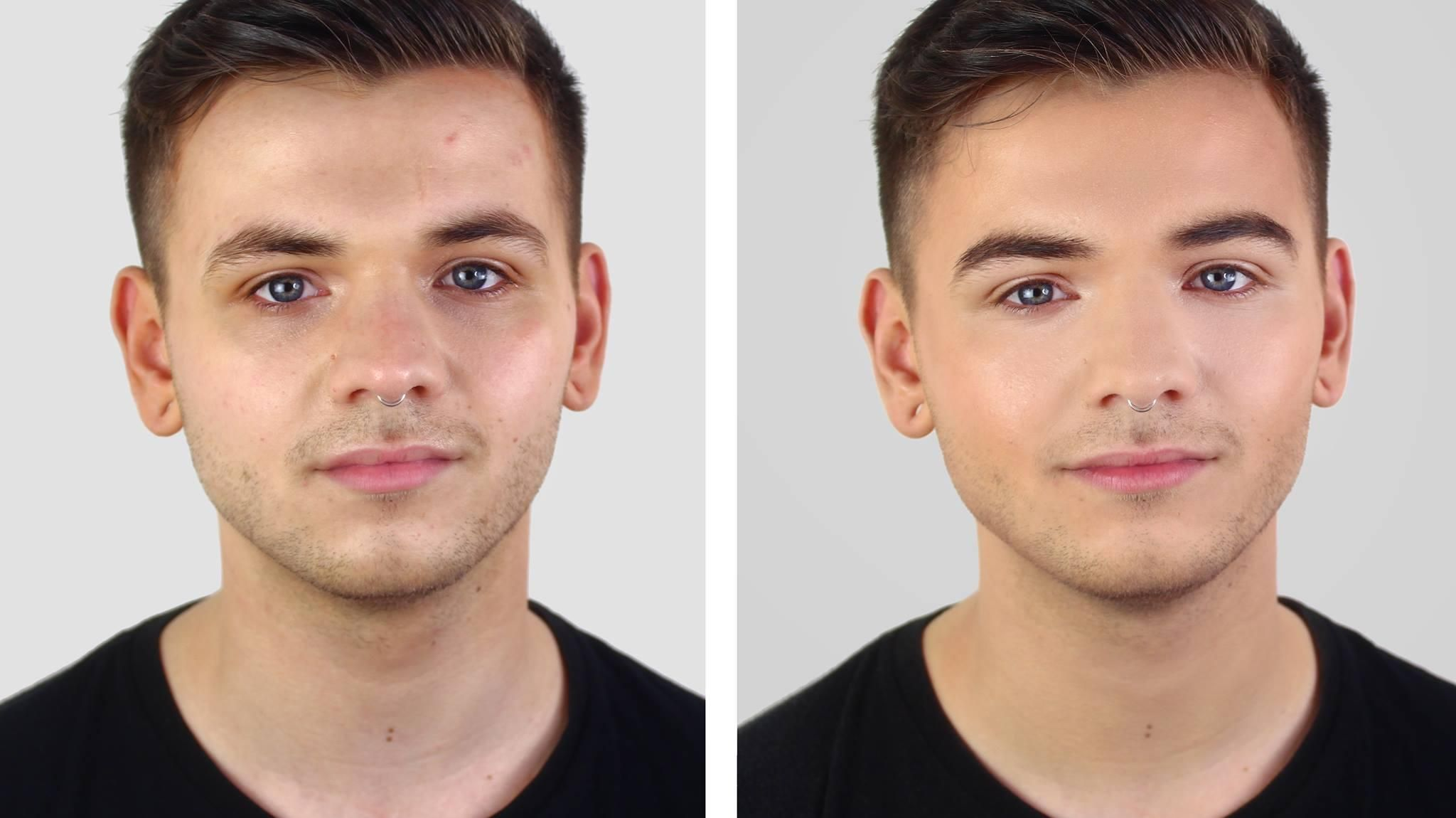 MALE GROOMING MAKEUP LESSON BASIC, POLISHED, SIGNATURE