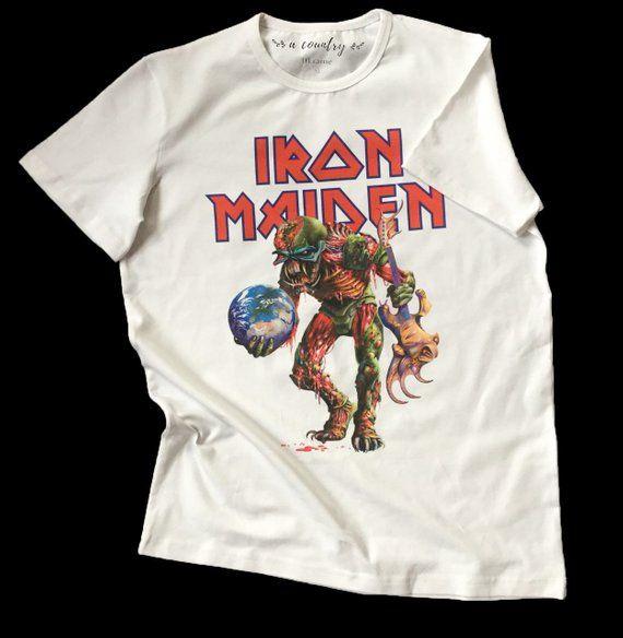 7b3ce8af2d Iron Maiden t-shirt / Eddie t-shirt / heavy metal tshirt / rock tees / metal  tees / Rock T-shirt A