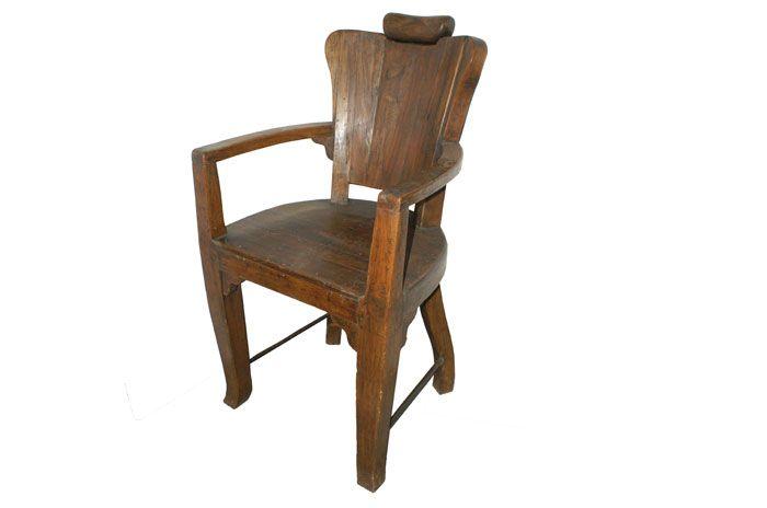sillas de comedor rusticas en madera - Google Search | woods ...