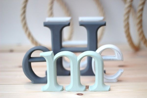 15cm wooden letters - Google Search