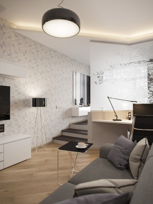 Marvelous Small, Smart Studios With Slick, Simple Designs