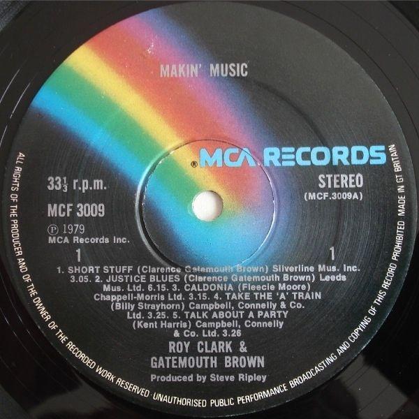Roy Clark Gatemouth Brown Makin Music Vinyl Lp At Discogs Roy Clark Music Gig Posters
