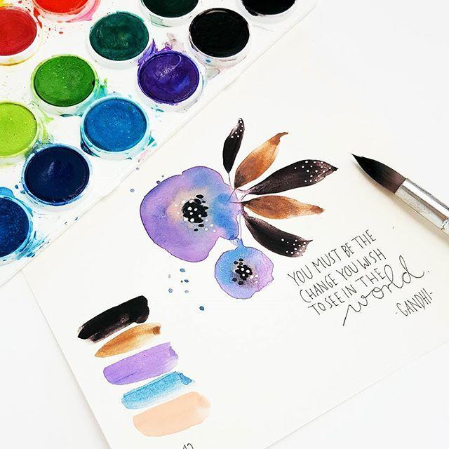Watercolor - Aquarell - Janna Werner
