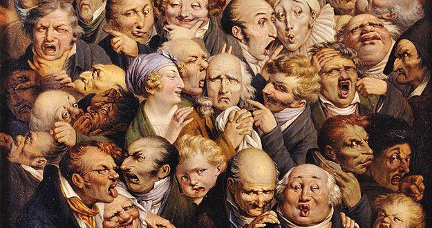 cuadros pintores caricaturas daumier - Buscar con Google
