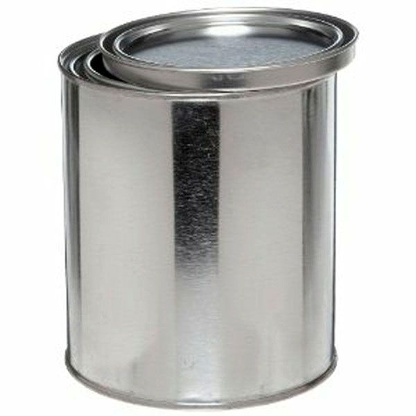 Behr 1 Qt Metal Paint Bucket And Lid Storage And