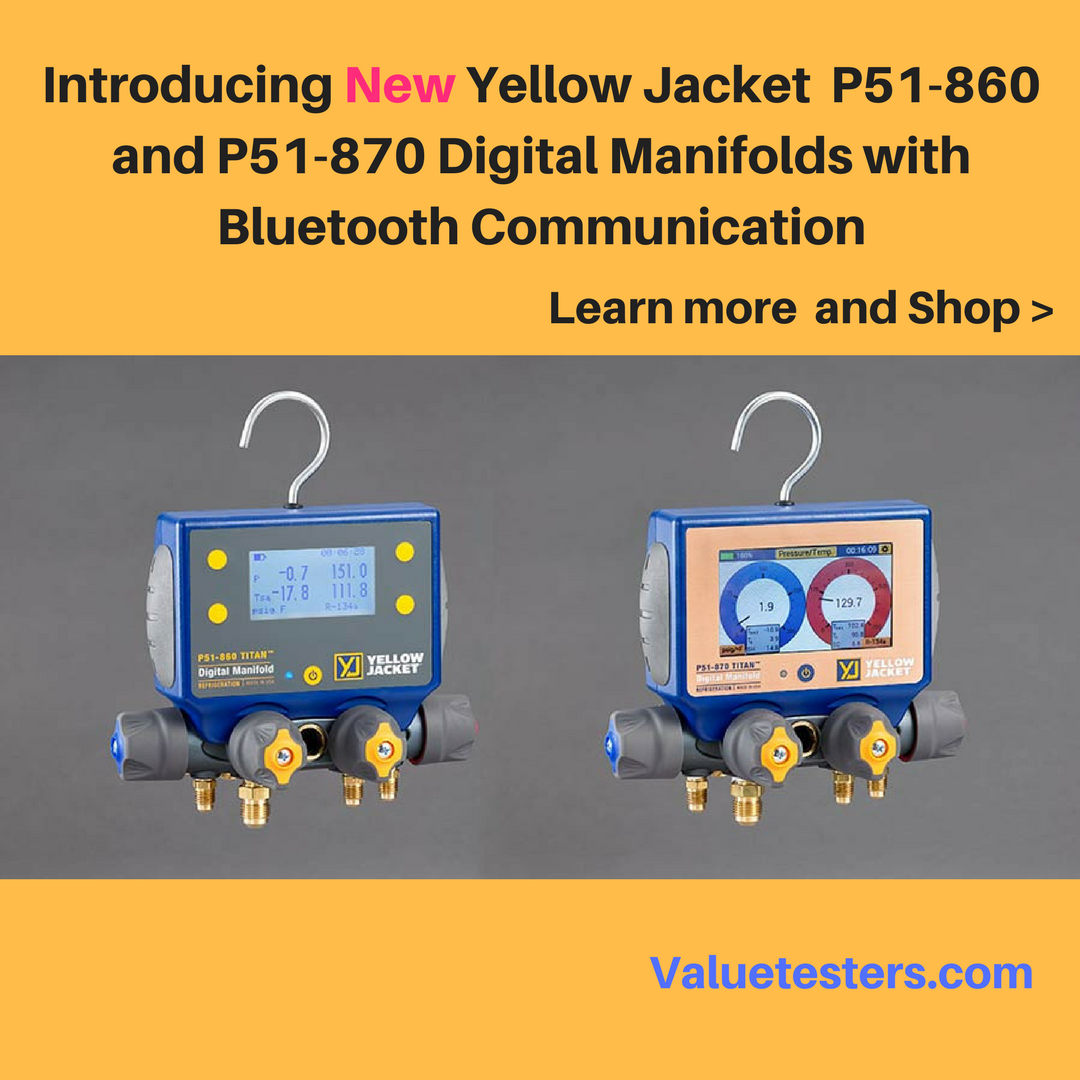 Why have the New Yellow Jacket P51860 and P51870
