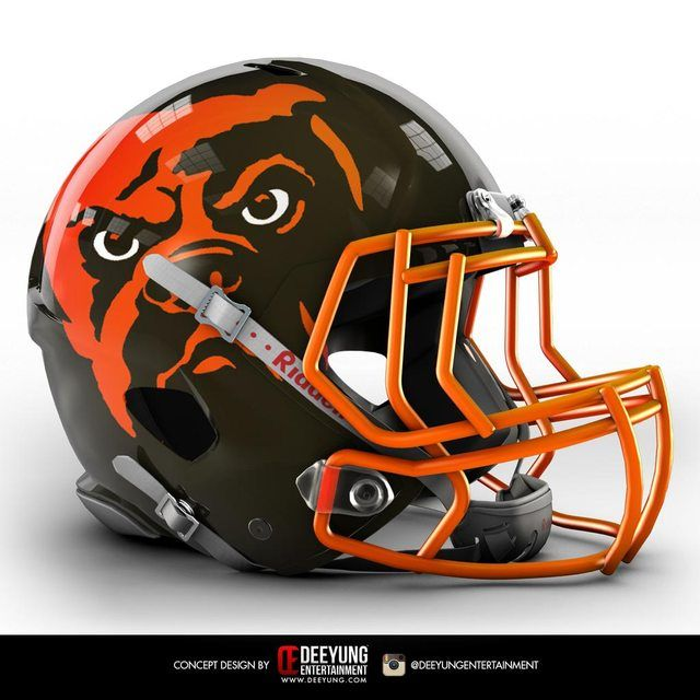 NFL Concept Helmets by Imgur   Cleveland Browns