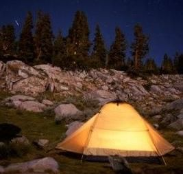 4) Camping in southern California (or Camping in general)