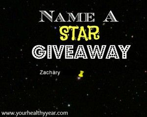 Name a Star Giveaway!