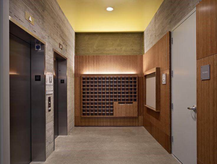 Small Condominium Entrance