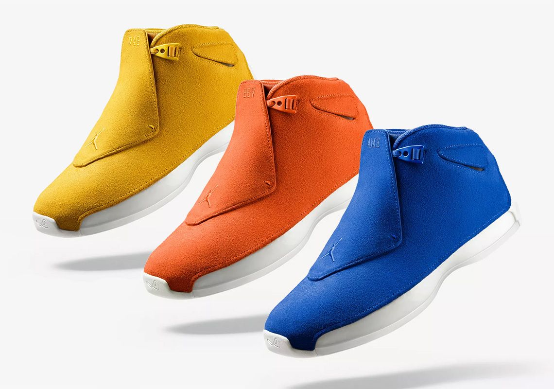 Air Jordan 18 Suede Pack Where To Buy  thatdope  sneakers  luxury  dope   fashion  trending 3a84745f0