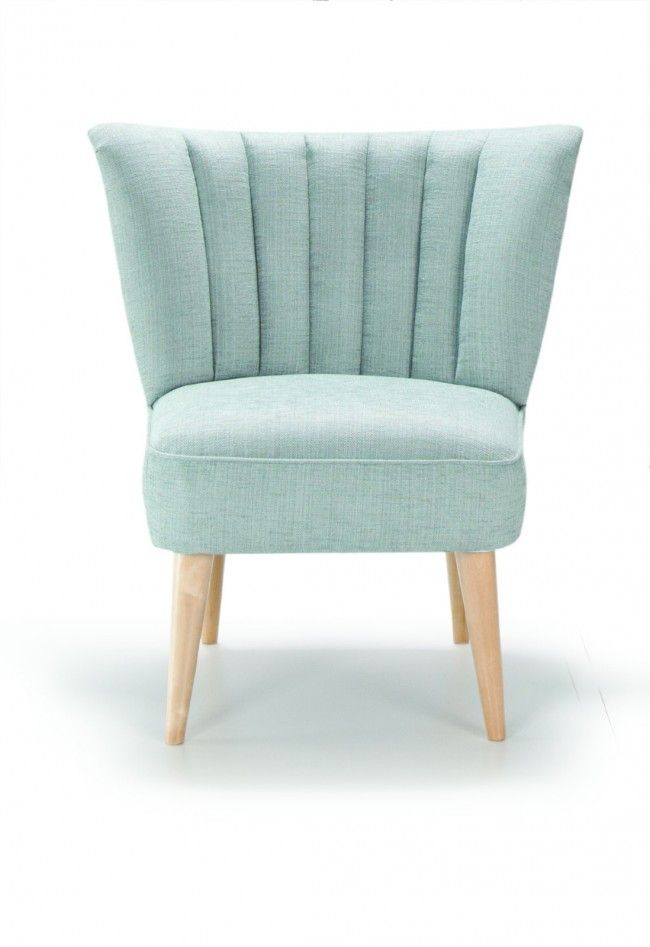 Palm Modern Accent Chair With Wooden Legs Accent Chairs Chair