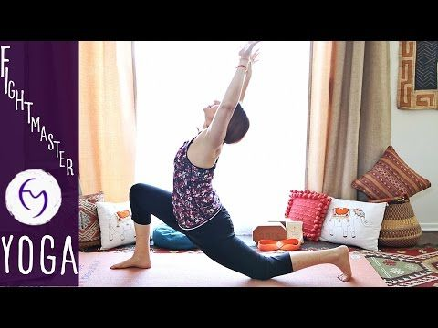 1) Vinyasa Flow Chest and Shoulder Opening With Fightmaster