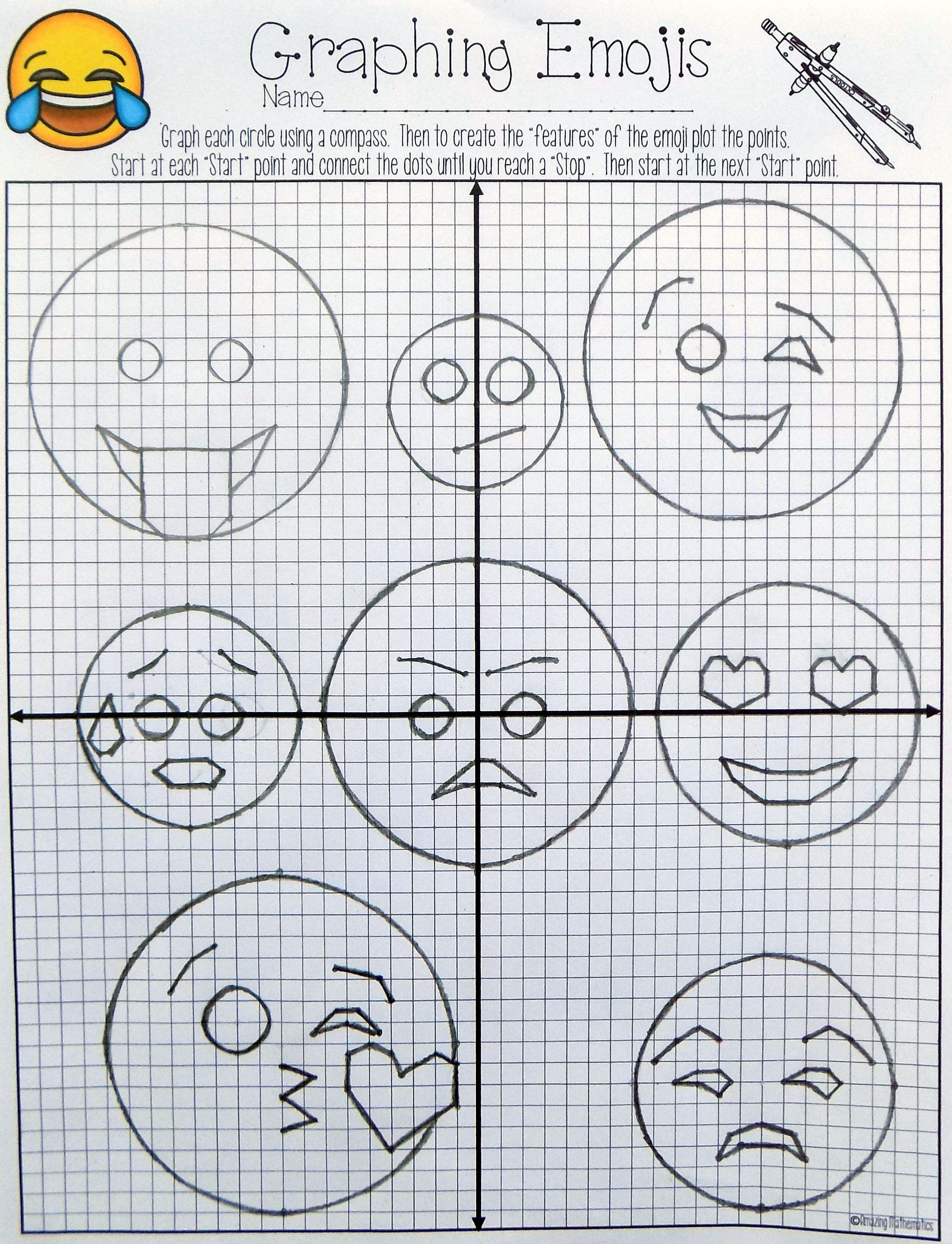 Equations Of Circles Activity My Tpt Items Pinterest Math