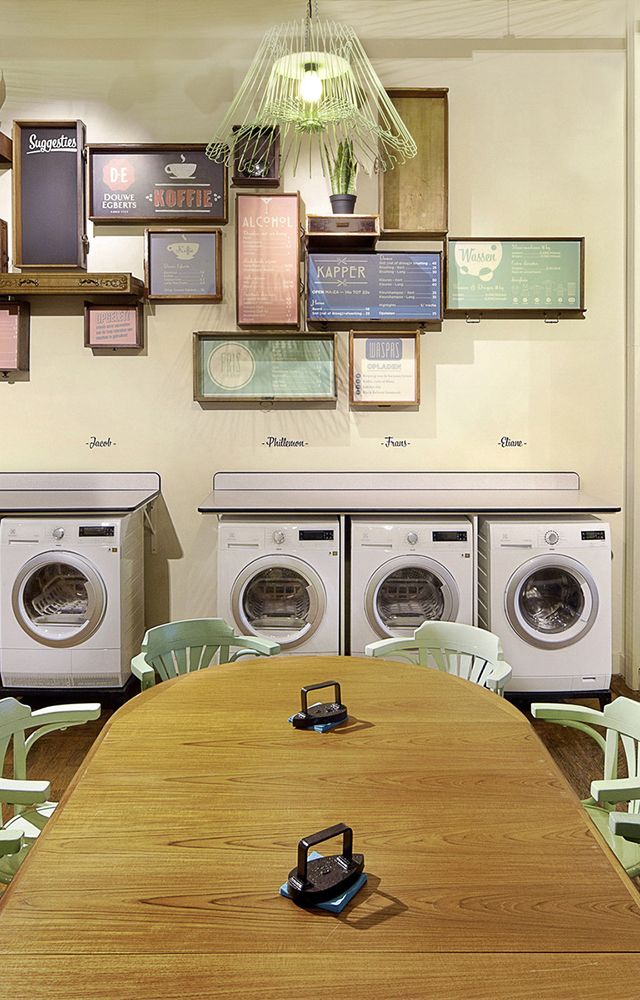 A Beer With Your Laundry At Wasbar Ghent By Pinkeye Retail
